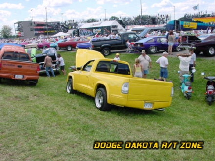 Dodge Dakota R/T, photo from 2000 Mopar Nationals Columbus, Ohio.