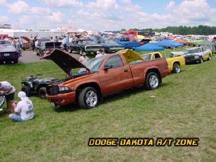 Above: Dodge Dakota R/T, photo from 2000 Mopar Nationals Columbus, Ohio.