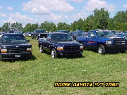 Dodge Dakota R/T, photo from 2000 Mopar Nationals Columbus, Ohio.