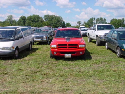 Above: Dodge Dakota R/T, photo from 2000 Mopar Nationals Columbus, Ohio.