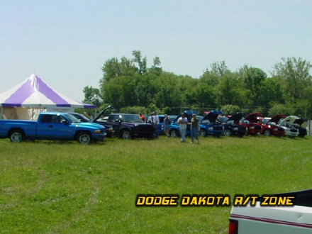 Above: Dodge Dakota R/T, photo from 2001 Chrysler Classic Columbus, Ohio.