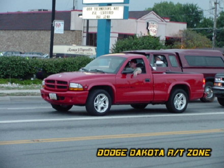 Dodge Dakota R/T, photo from 2001 Mopar Nationals Columbus, Ohio