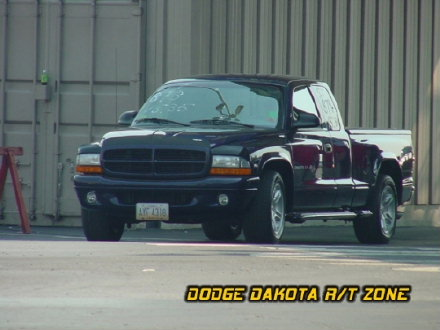Above: Dodge Dakota R/T, photo from 2002 Mopar Nationals Columbus, Ohio.