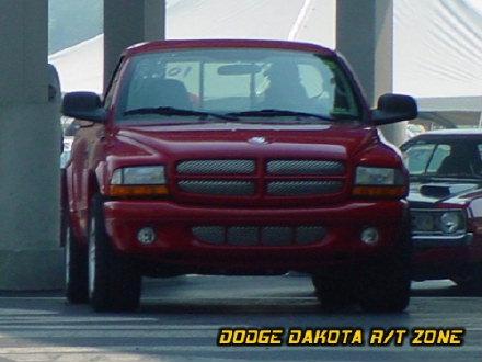 Dodge Dakota R/T, photo from 2002 Mopar Nationals Columbus, Ohio.