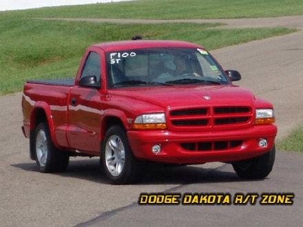 Above: Dodge Dakota R/T, photo from 2004 Mopar Nationals Columbus, Ohio.