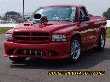 Dodge Dakota R/T, photo from 2004 Mopar Nationals Columbus, Ohio.