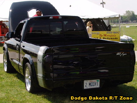Above: Dodge Dakota R/T, photo from 2005 Mopars At Indy Indianapolis, Indiana.