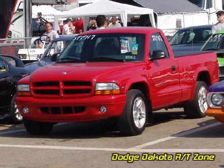 Above: Dodge Dakota R/T, photo from 2006 Mopars Nationals Columbus, Ohio.