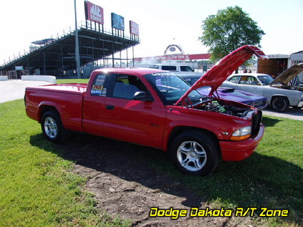 Above: Dodge Dakota R/T, photo from 2006 Mopars At Indy Indianapolis, Indiana.