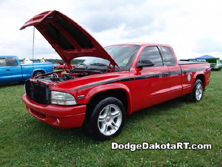 Dodge Dakota R/T, photo from 2007 Mopars Nationals Columbus, Ohio.