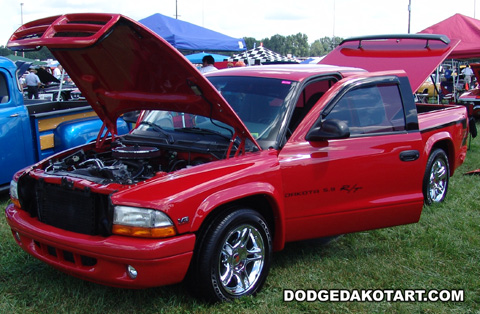 Dodge Dakota R/T, photo from 2008 Mopars Nationals Columbus, Ohio.