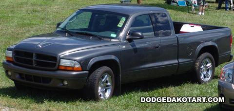 Above: Dodge Dakota R/T, photo from 2008 Mopars Nationals Columbus, Ohio.