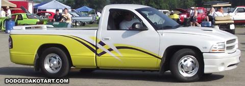 Dodge Dakota R/T, photo from 2010 Mopars Nationals Columbus, Ohio.