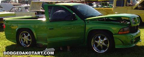 Dodge Dakota R/T, photo from 2011 Mopars Nationals Columbus, Ohio.