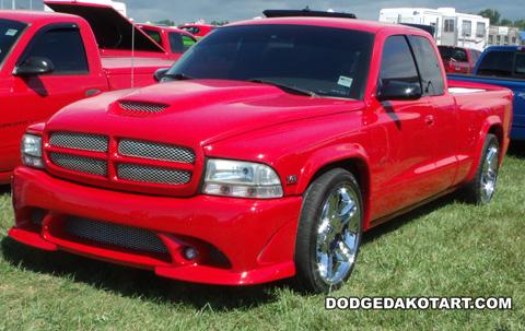 Dodge Dakota R/T, photo from 2012 Mopars Nationals Columbus, Ohio.