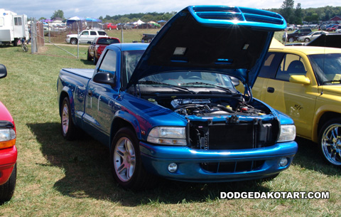 Above: Dodge Dakota R/T, photo from 2012 Mopars Nationals Columbus, Ohio.