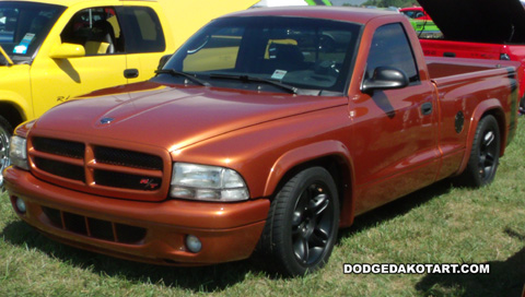 Above: Dodge Dakota R/T, photo from 2012 Mopars Nationals Columbus, Ohio.