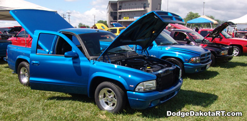 Dodge Dakota R/T, photo from 2012 Mopars Nationals Columbus, Ohio.