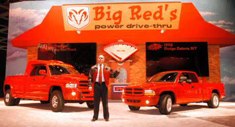 Big Red Truck and the 1998 Dodge Dakota R/T