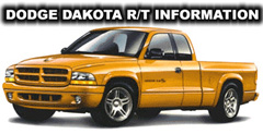 Dodge Dakota R/T Information