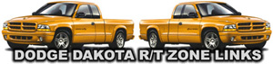 Dodge Dakota R/T & Mopar Links
