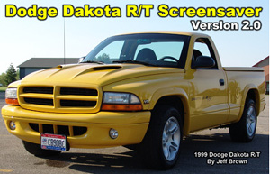 Dodge Dakota R/T Screensaver 2.0