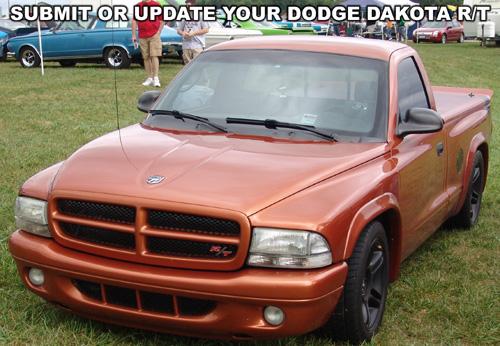 Submit Or Update Dodge Dakota R/T