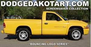Dodge Dakota R/T Bouncing Logo screensaver 1.0