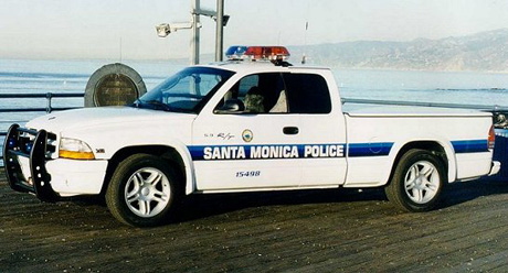 Dodge Dakota R/T Police Truck